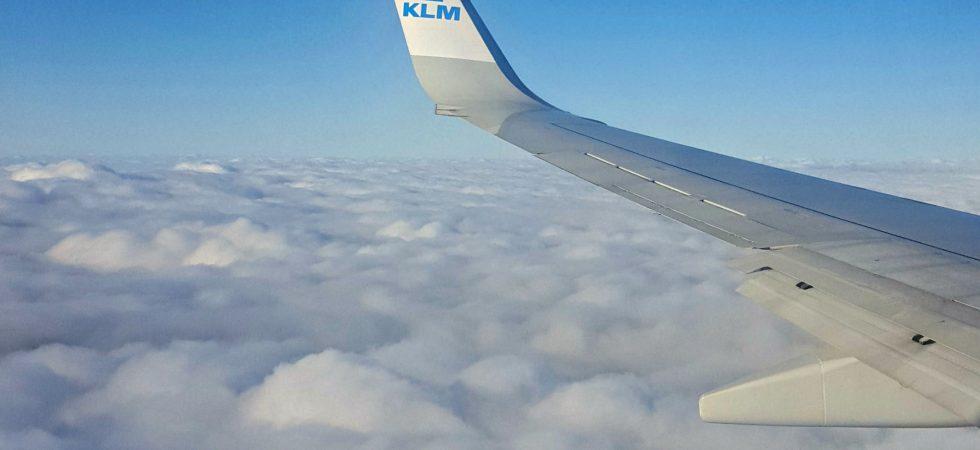 vliegen KLM ipb-en