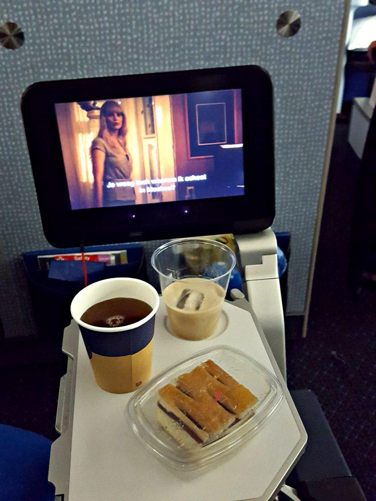 vliegtuig comfort stoelen klm baileys film