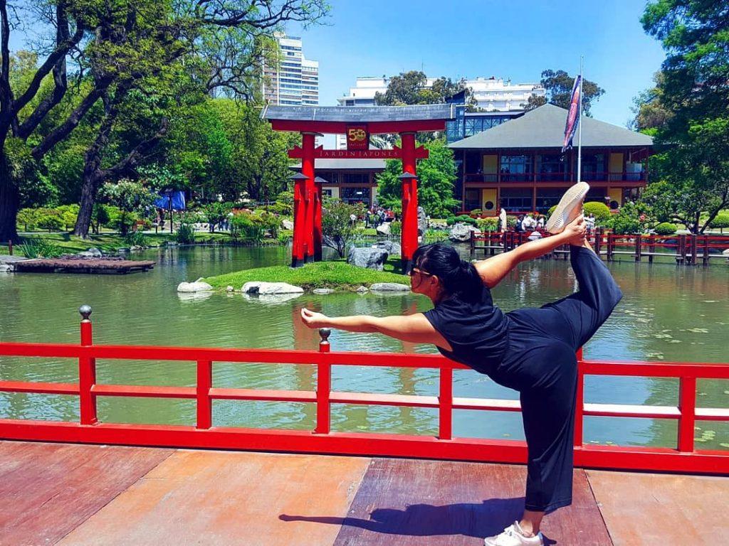 yoga buenos aires japanse tuin zen rust