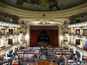El Ateneo Grand Splendid boekwinkel doen in Buenos Aires