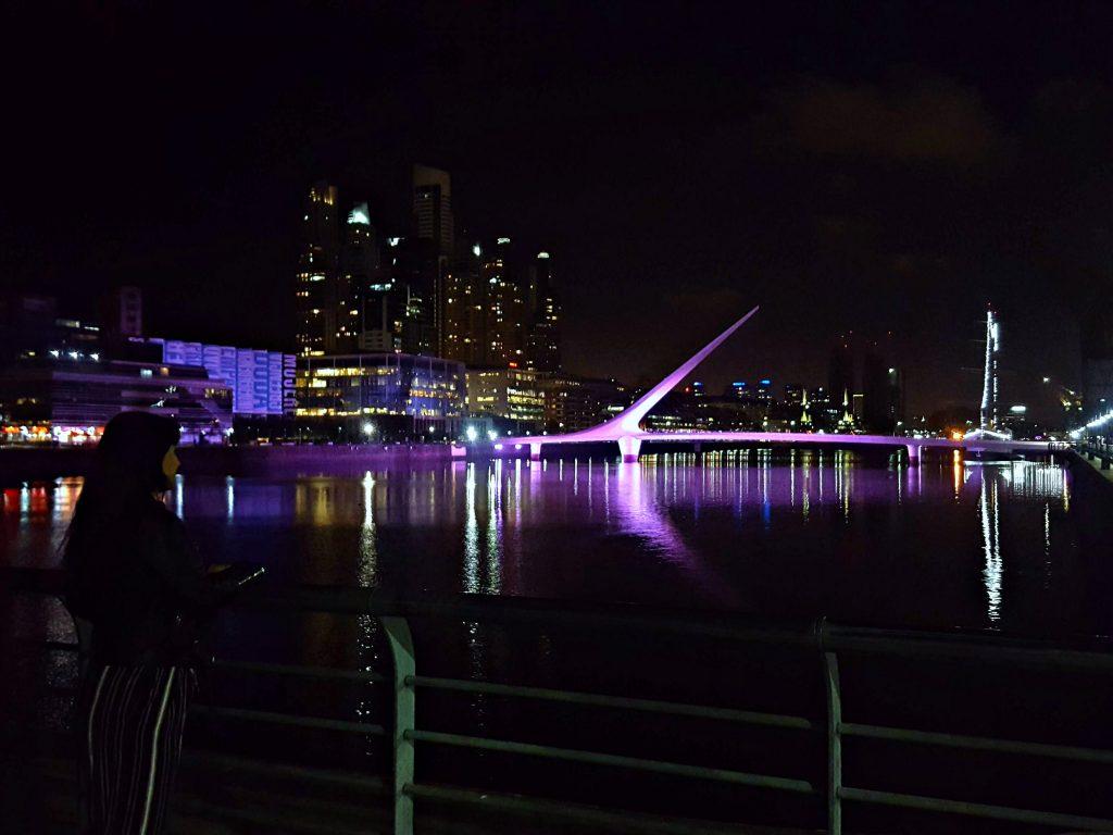 Puerto madero Puente de la Mujer Buenos Aires