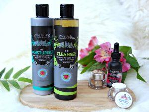 natuurlijke haarverzorging shampoo conditioner parabenen vrij Karine jackson