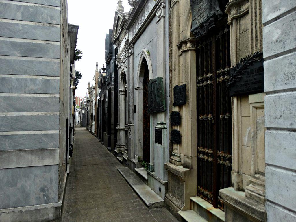 recoleta begraafplaats doen in buenos aires