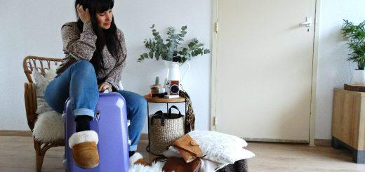 pakken voor een weekendje weg koffer inpakken