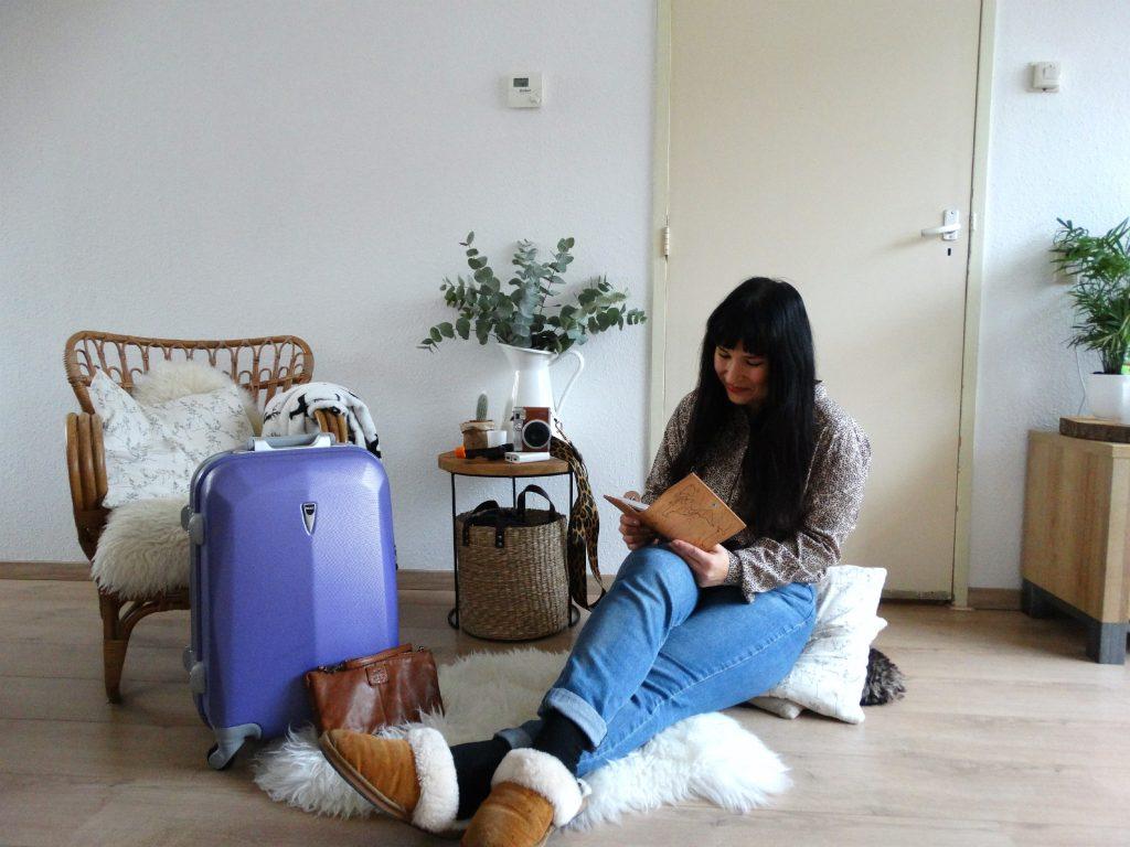 wat inpakken voor een weekendje weg koffer polaroid