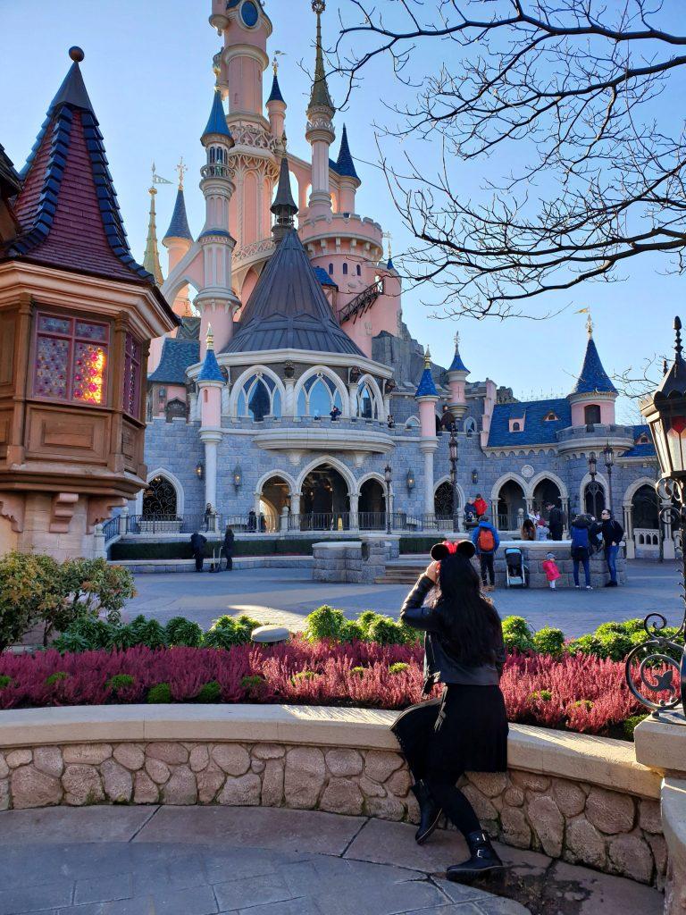 disneyland parijs prinsessen kasteel mickey mouse oren reizen