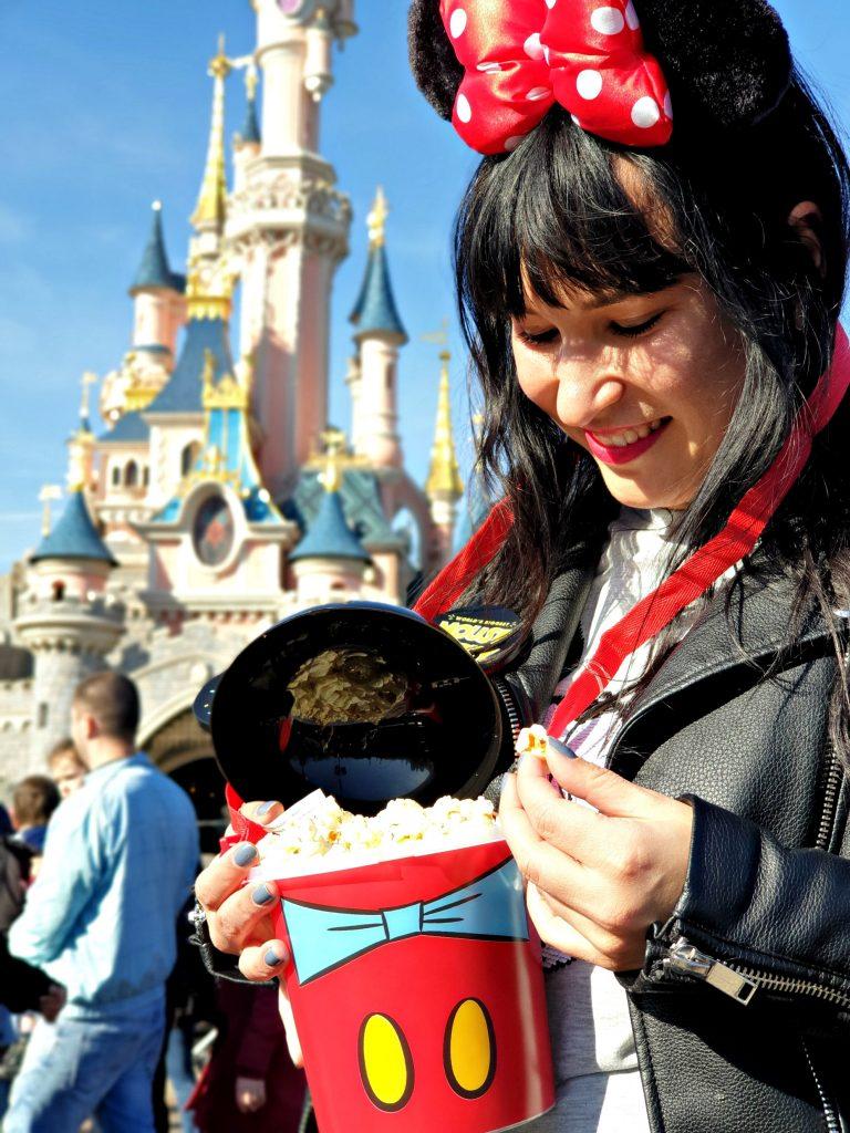 disneyland popcorn disney prinsessen kasteel mickey mouse oren reizen