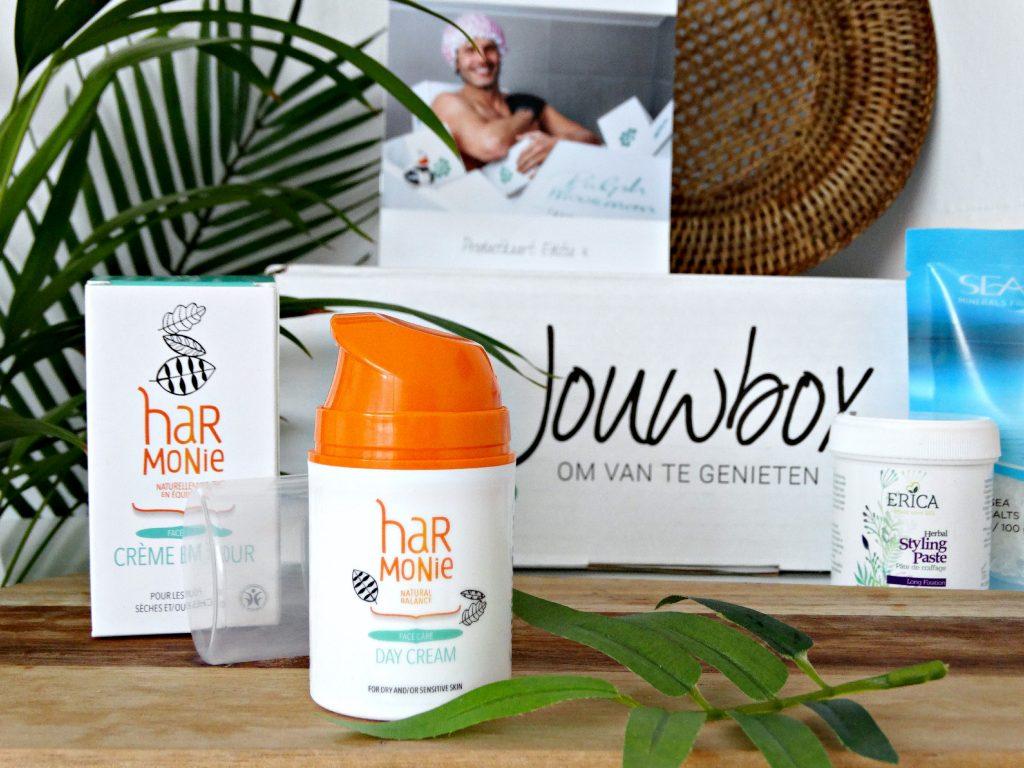 harmonie dagcreme gevoelige huid jouwbox gezichtsverzorging