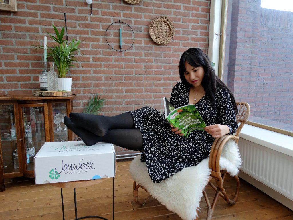 jouwbox genieten masterplan lezen relaxen verwenmoment