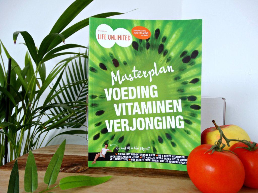 masterplan voeding vitamine verjonging bookazine jouwbox
