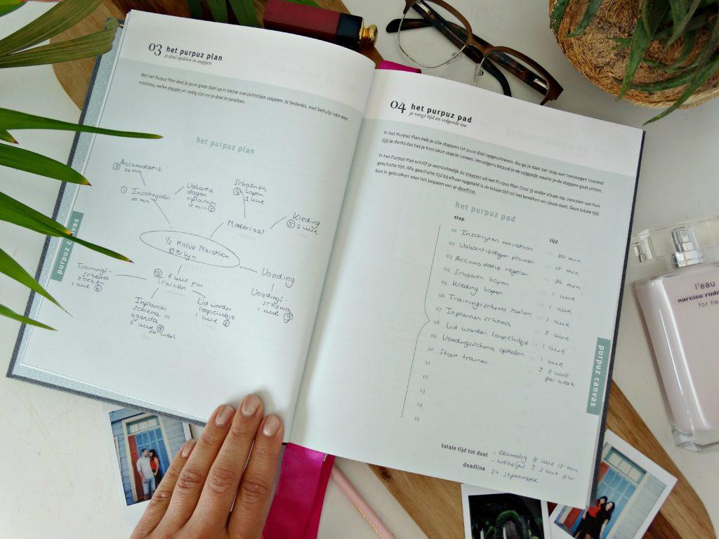 doelen plannen doelen waarmaken purpuz pad