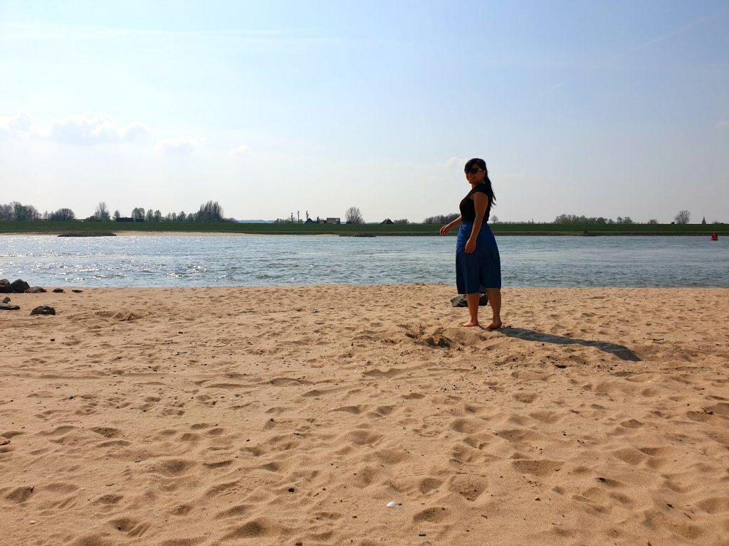 leven met een hersenletsel strand happy place outfit rok