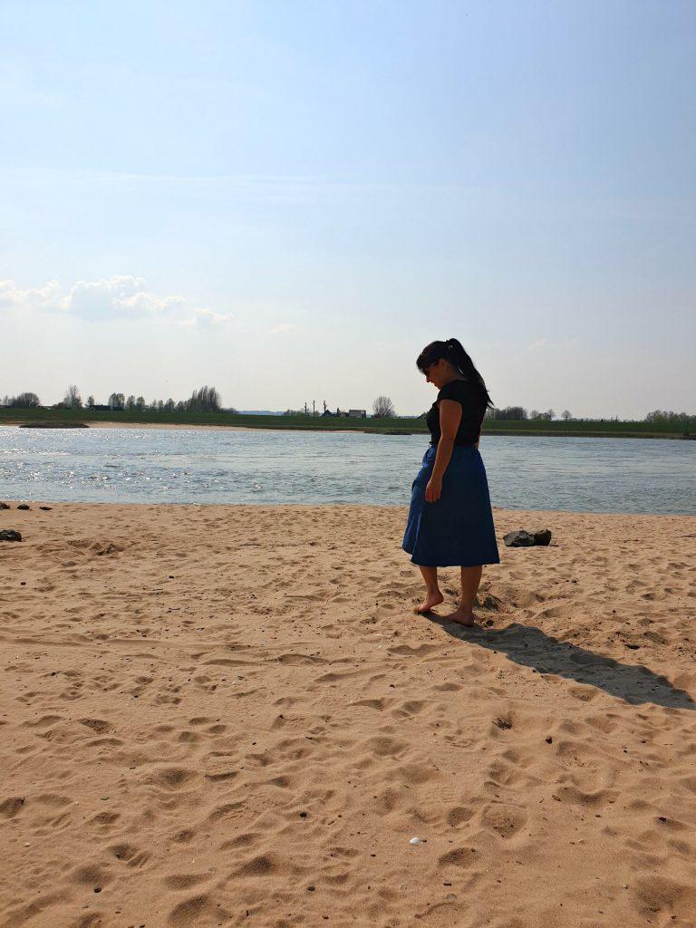 leven met een hersenletsel strand me time genieten