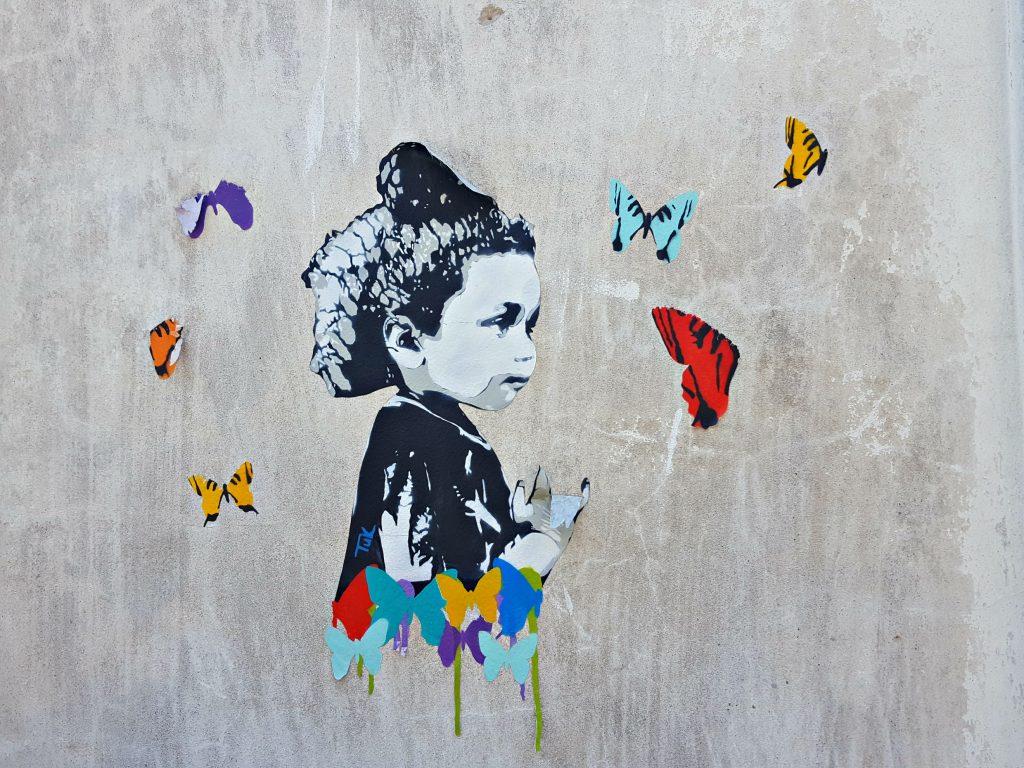 street art buenos aires vlinders