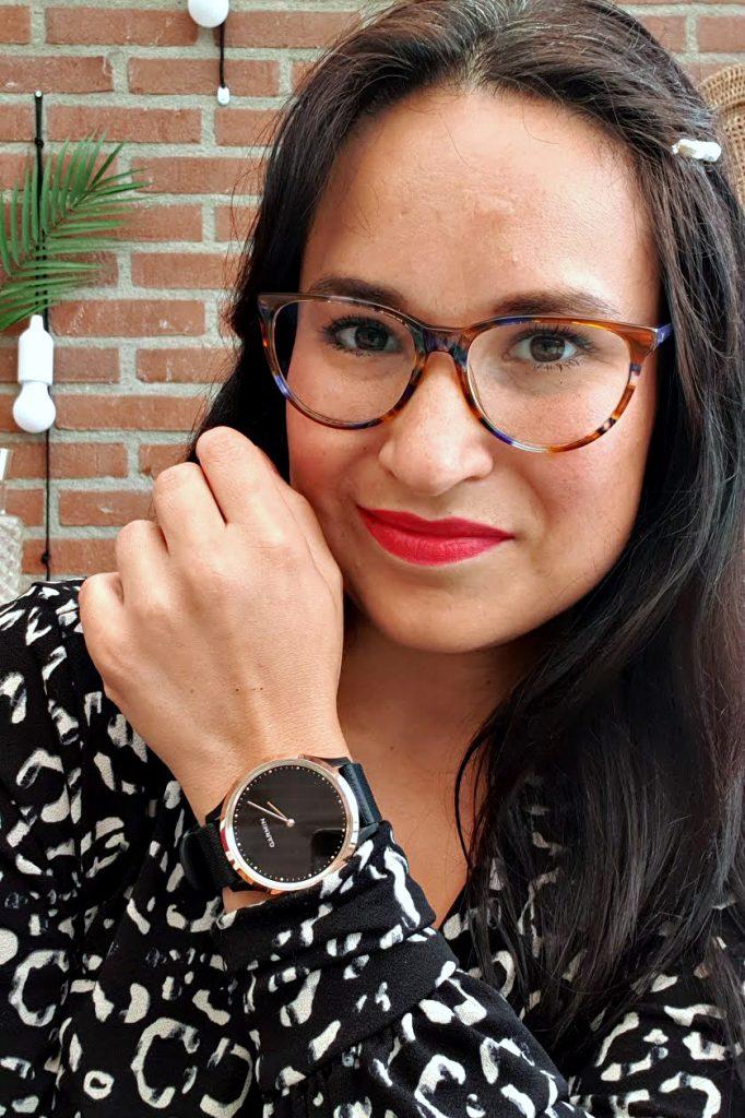 actiever worden garmin vivomove HR smartwatch horloge