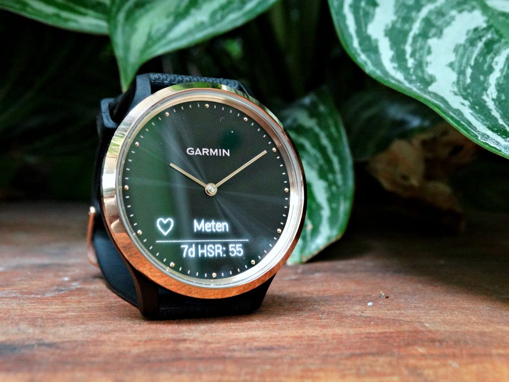 garmin smartwatch hartslag meten