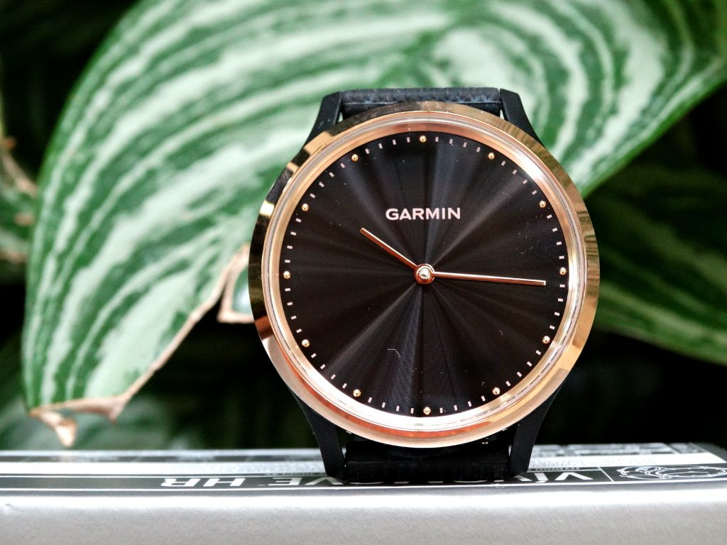 garmin vivomove HTR smartwatch review