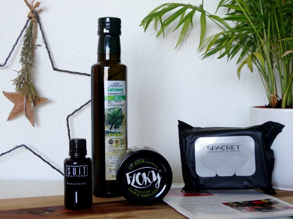 floky knoflook seacret olijfolie suit matters