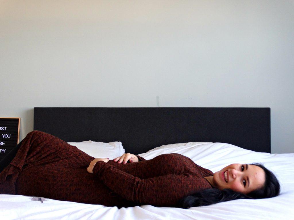 zoektocht naar geluk rusten bed