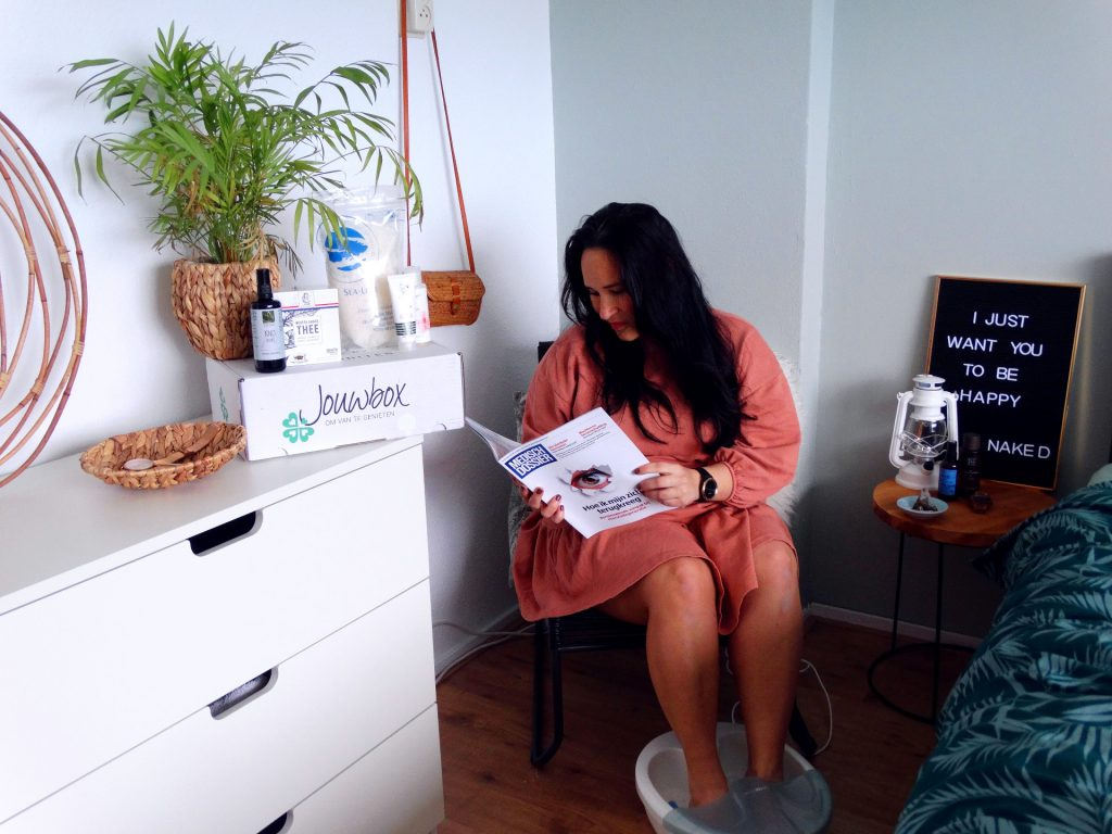 jouwbox editie 8 lezen me time selfcare genietmoment