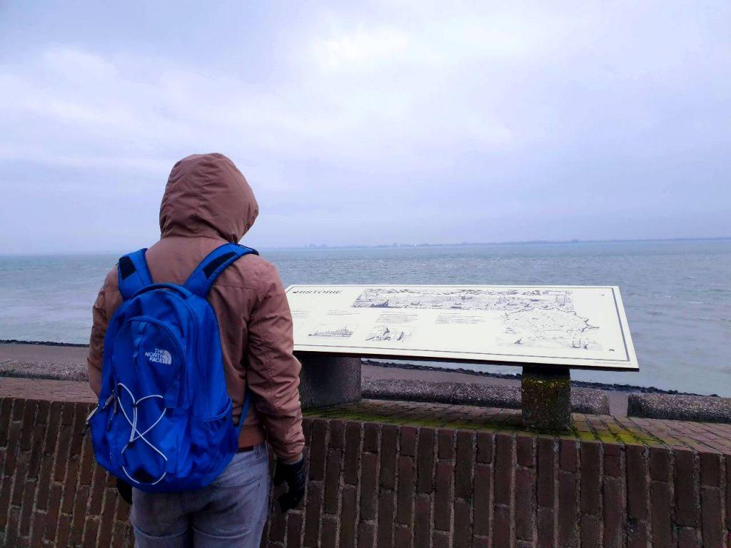 vlissingen babymoon nederland zee North face rugzak