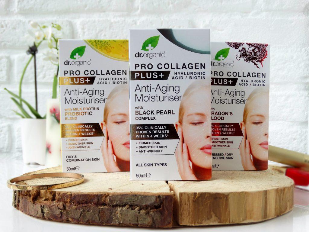Natuurlijke moisturizer Dr Organic pro collagen