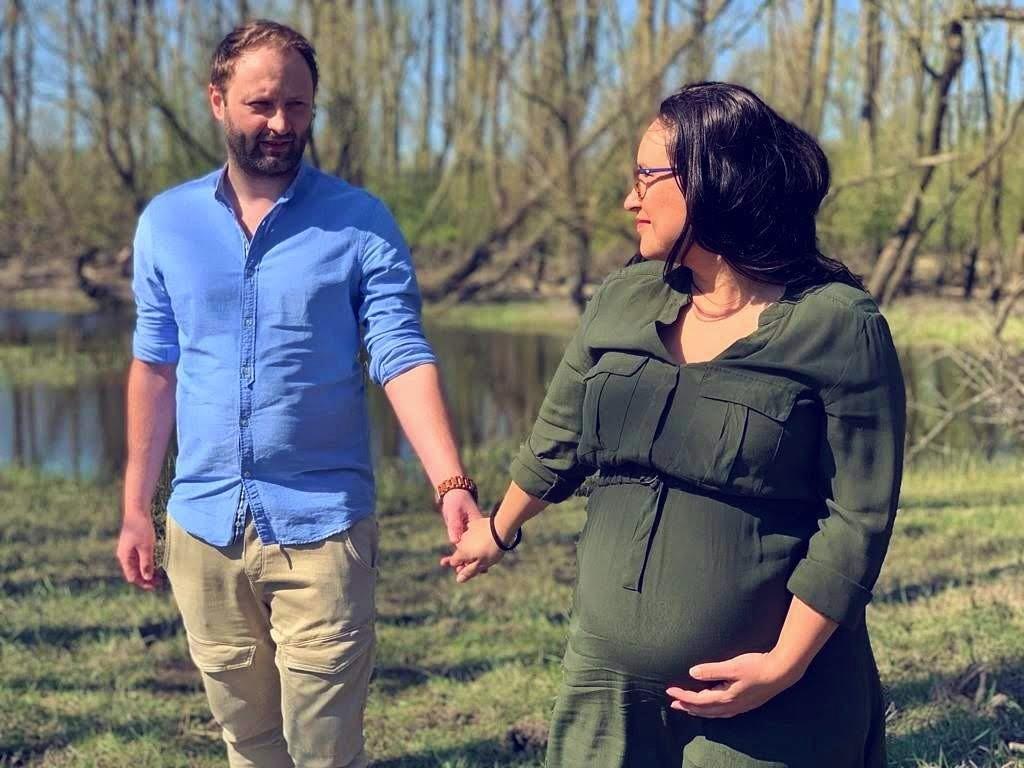 zwangerschapsfotoshoot zwanger