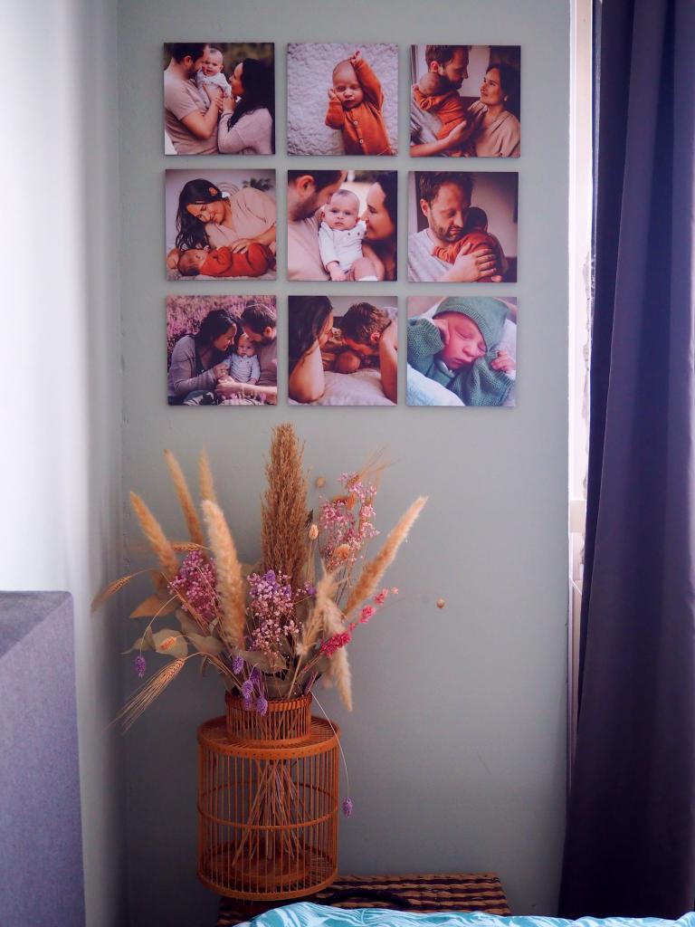 foto collage newborn fotoshoot