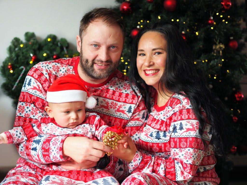 eerste kerst roan matching kerstpyjama