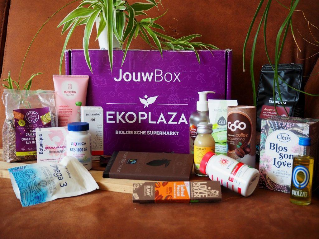 boodschappen van Ekoplaza Jouwbox