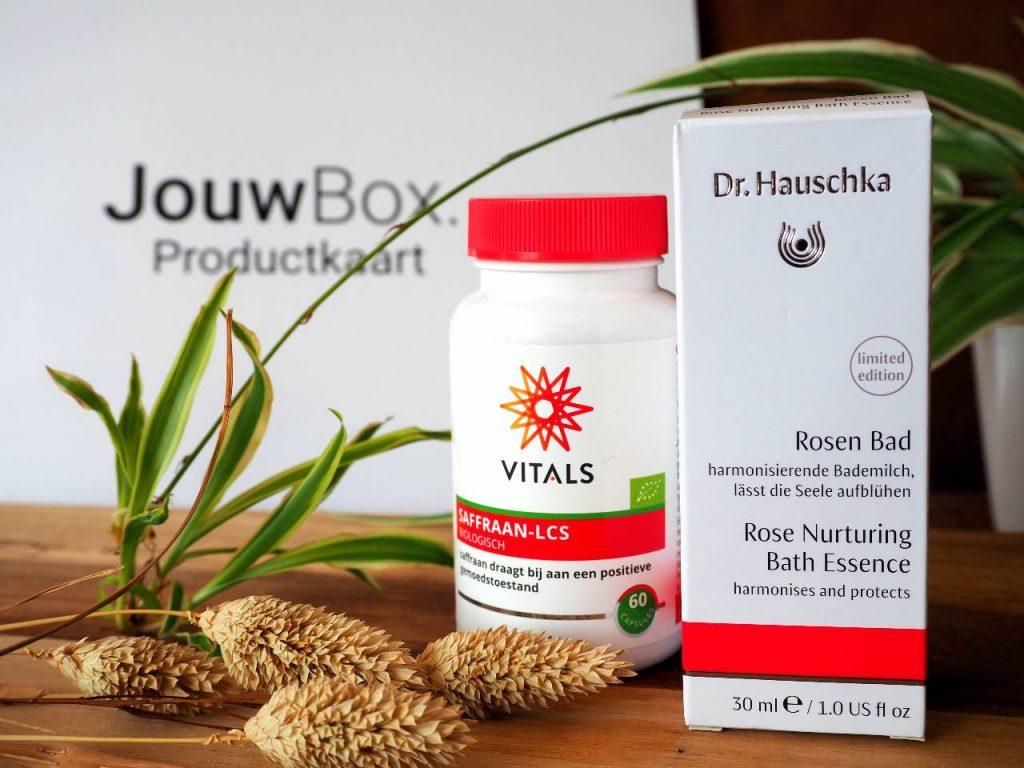 jouwbox vitaminen vitals dr Hauschka badolie