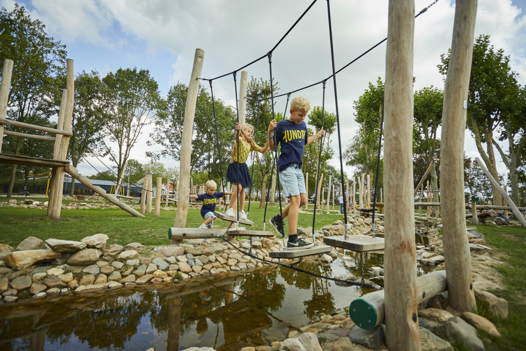 waterspeeltuin bungalowpark de leistert