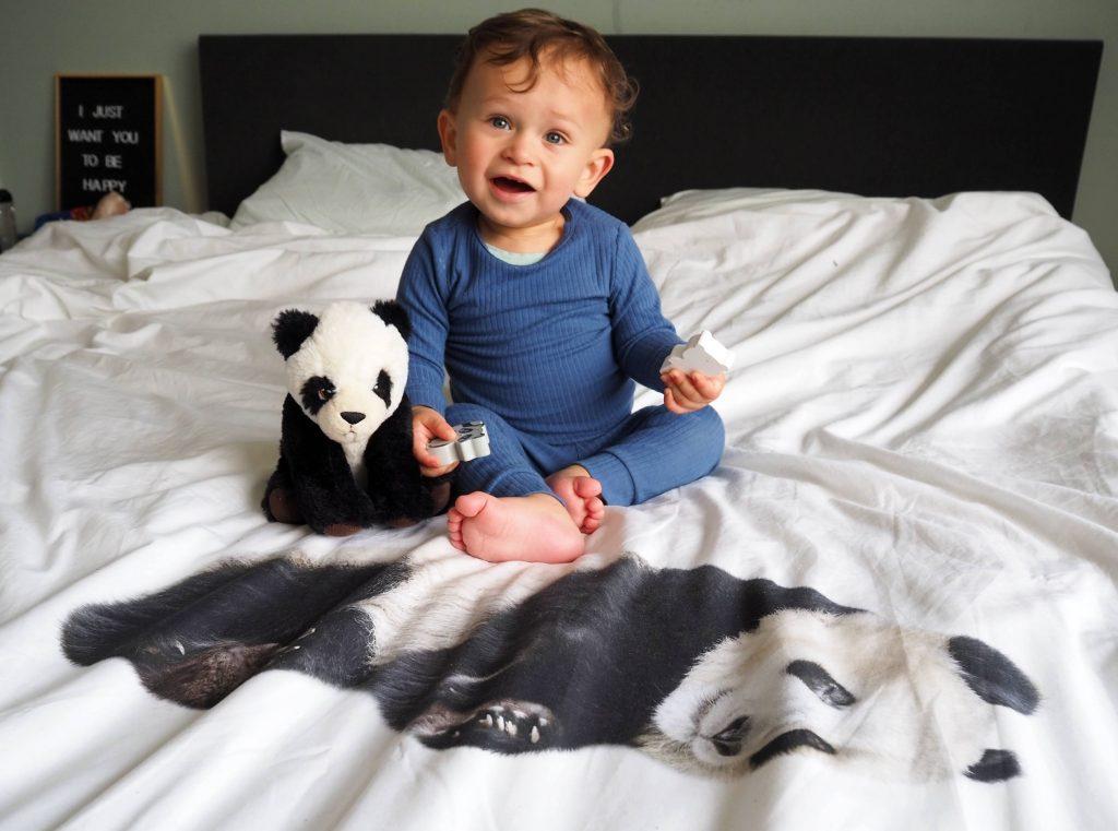 panda dekbedovertrek snurk