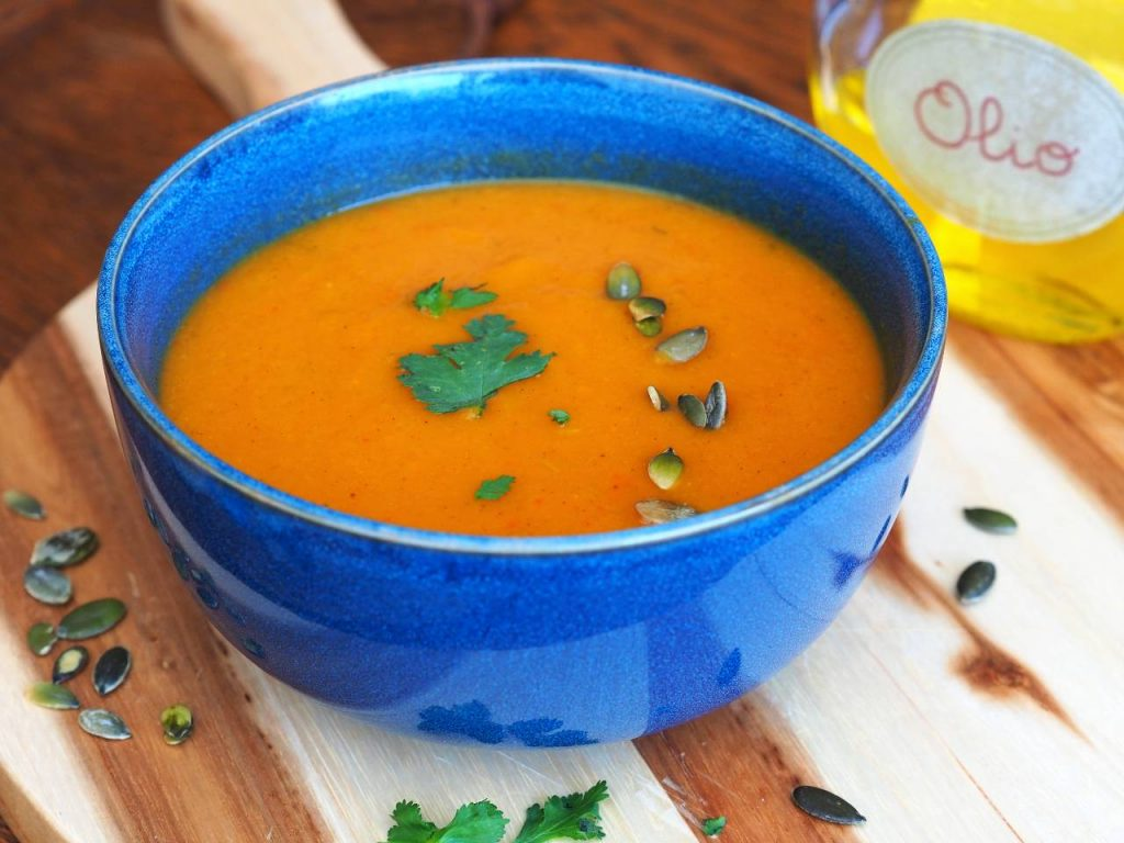 pompoen soep recept