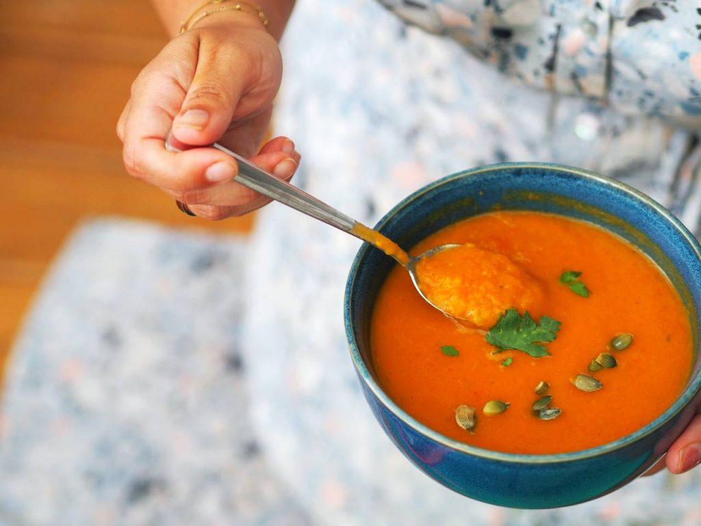 pompoengerechten pompoen soep